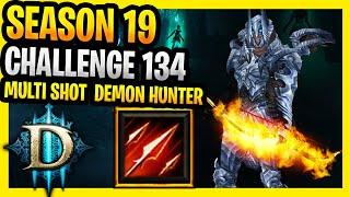 Diablo 3 Season 19 Challenge Rift 134 Demon Hunter Multishot Guide Diablo 3 Challenge Rifts