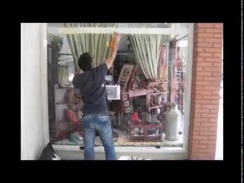 Dise o de vidriera youtube for Decoracion de vidrieras de ropa