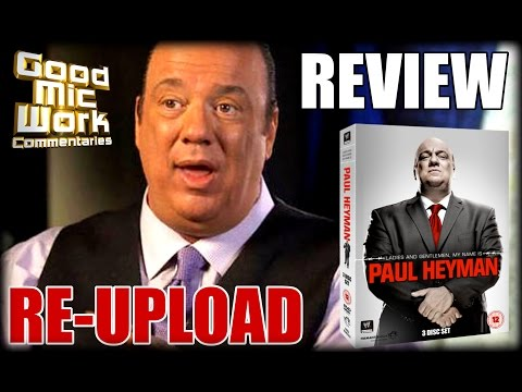 Paul Heyman WWE DVD Review | RE-UPLOAD