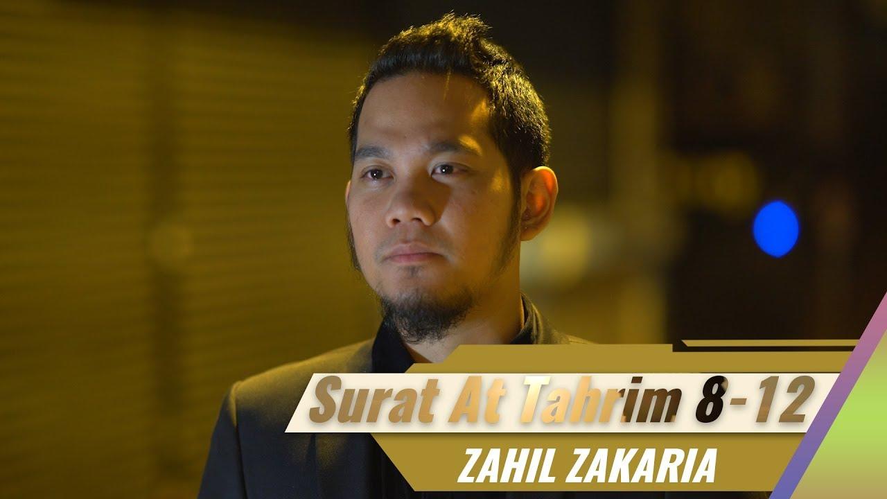 Goes To Turkey Surat At Tahrim 8 12 Zahil Zakaria Al Hafiz