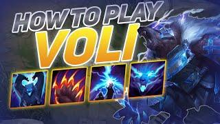 HOW TO PLAY VOLIBEAR SEASON 10   BEST Build & Runes   Season 10 Volibear guide   League of Legends