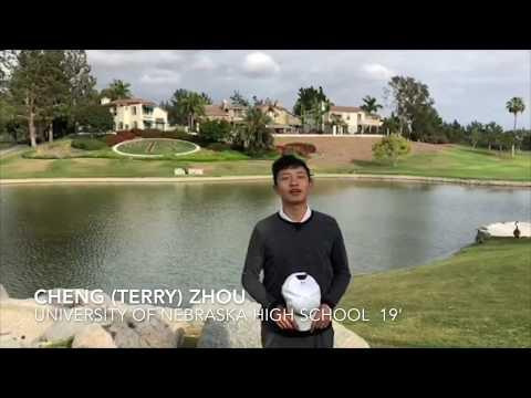Cheng (Terry) Zhou - University of Nebraska High School 19' [NCAA Men Golf]