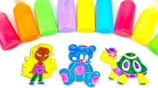 Витражи для детей Учим цвета и формы Учимся раскрашивать Витражи  Игрушкин ТВ
