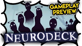Neurodeck: Psychological Deckbuilder GAMEPLAY PREVIEW (Video Game Video Review)