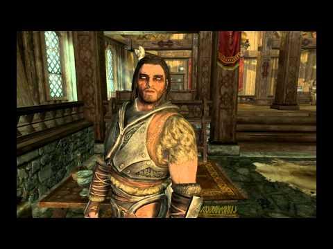 Видео из игры Скайрим -