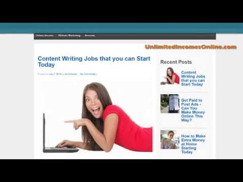 Content Writing Jobs you can Start Today