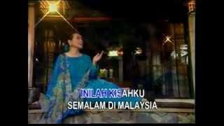 SEMALAM DI MALAYSIA - TITIEK SANDHORA - [Karaoke Video]