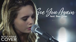 Video See You Again - Wiz Khalifa feat. Charlie Puth (Boyce Avenue feat. Bea Miller) on Apple & Spotify download MP3, 3GP, MP4, WEBM, AVI, FLV Oktober 2017