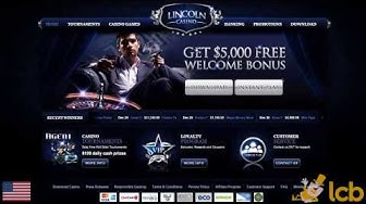 Lincoln Casino Video Review
