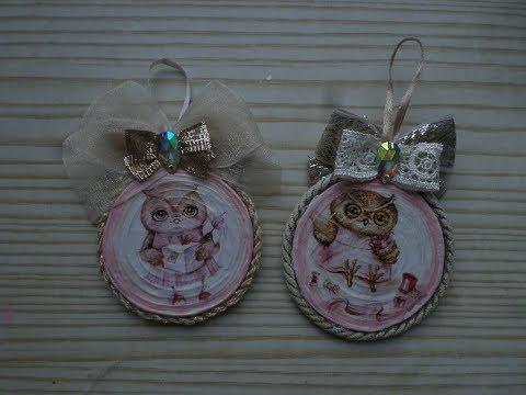 Медальоны из бисера