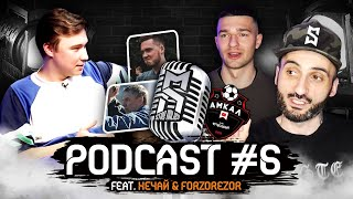 НЕЧАЙ | FORZOREZOR | Podcast #6 | Темы: Нечай старший. Саня Фифа. Амкал