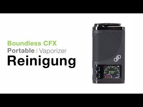 Boundless CFX Vaporizer Verdampfer Reinigung - TVape
