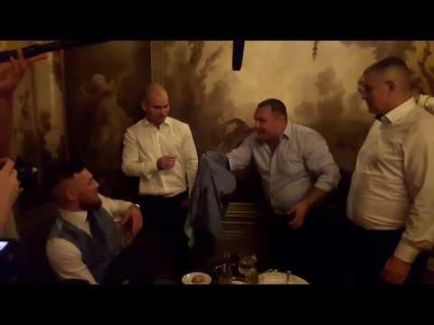 Conor McGregor  Shocked /Конор Макгрегор и Сергей Листопад /Sergey Listopad