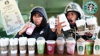 We Ordered EVERY Drink Off The STARBUCKS Menu!