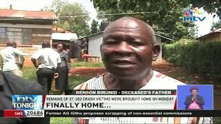 Parents of Ethiopian Airlines plane crash victim defy burial traditions