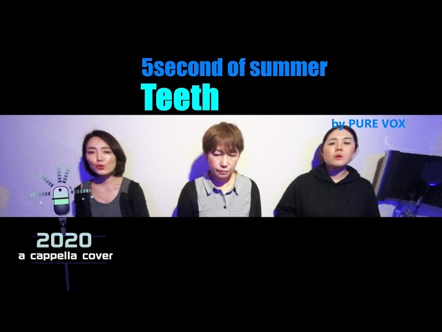 【洋楽アカペラカバー/A cappella・Cover】5 Seconds of Summer-Teeth
