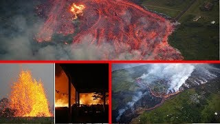 DFN: Hawaii volcano eruption: Lava THREATENS to DESTROY highway, cutting off access to homes!!!