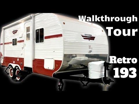 2020 Retro 193 Travel Trailer Walkthrough Tour