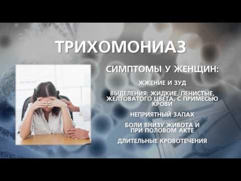 Трихомониаз: симптомы у женщин, лечение