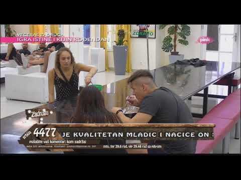 Zadruga - Veliki šef pustio ukućanima Kijin i Slobin nastup sa Zadrugovizije 3 - 25.05.2018.