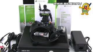 Sidex.ru: Видеообзор Xbox 360 Slim 250Gb + CoD: MW3 (S2G-00027)