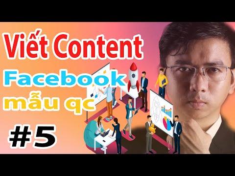 Học Cách Viết Content Mẫu Quảng Cáo Facebook | Khoá học Digital Marketing Online Miễn Phí Phần 5