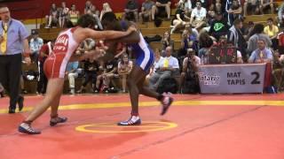 2014 CAN CUP SR FS 57kg Sam Jagas (Brock) vs Dylan Williams (Bears)