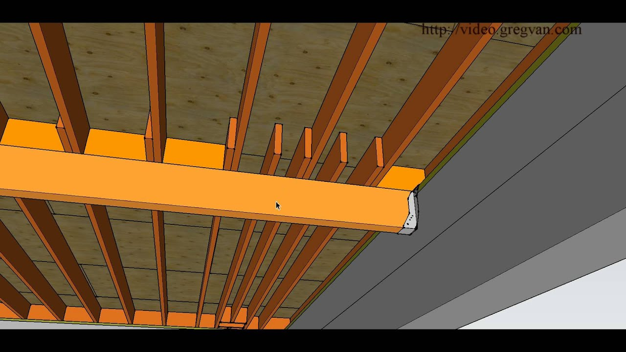 How To Repair Cut Or Damaged Floor Joist Adding More