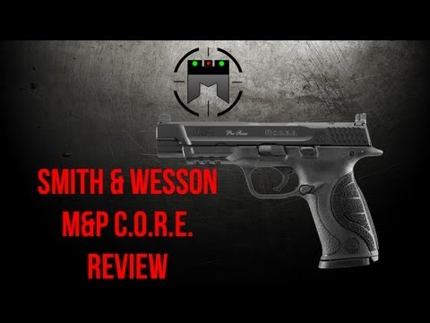 S&W M&P C.O.R.E. Review by Jerry Miculek