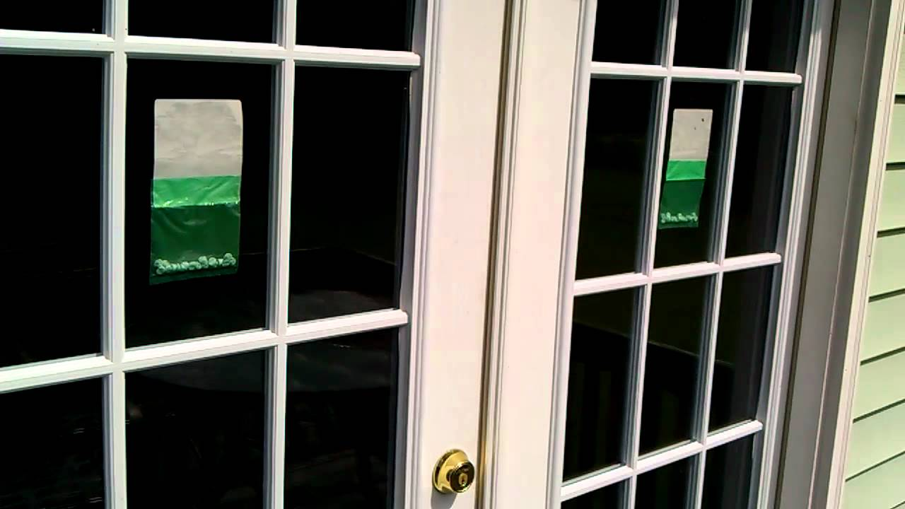 French Door Security Bar
