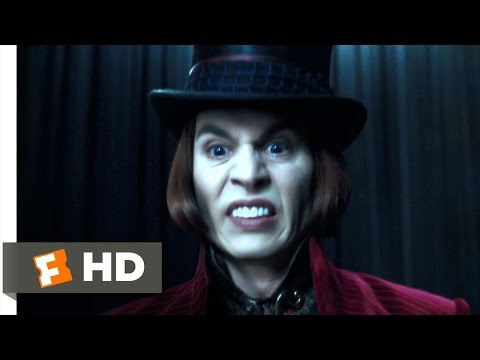 Charlie and the Chocolate Factory (1/5) Movie CLIP - I Don't Care (2005) HD