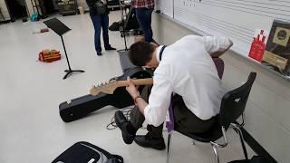 The coolest substitute music teacher