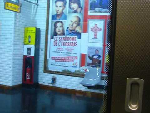 Station Bonne Nouvelle Ligne 9 du metro à Paris