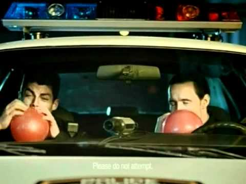 Twix Commercial - Helium Cops - Super bowl