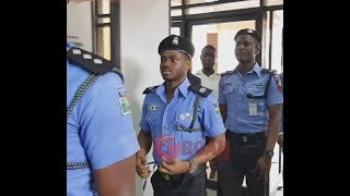 Korede Bello Storms In Wearing Police Unform At Entertainment Event As Seyi Law Throws Shade At Him