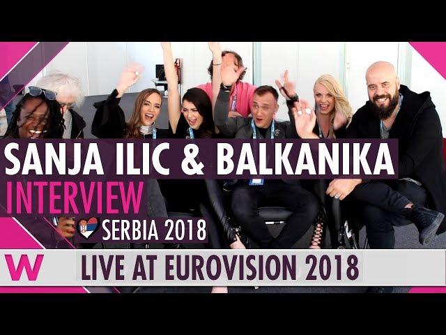 Sanja Ilić & Balkanika (Serbia) Interview @ Eurovision 2018  wiwibloggs