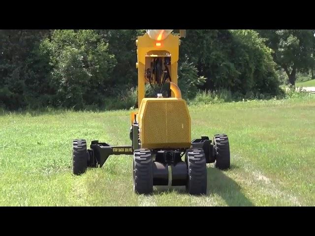 Mini-Jarraff Showing Narrowing and Widening of Wheels
