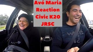 Avó Zezinha - Reaction To Honda Civic VTi EG9 K20 SuperCharger