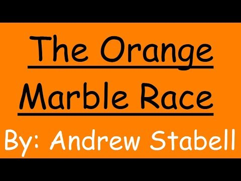 The Orange Marble Race