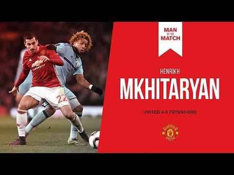 Henrikh Mkhitaryan vs Feyenoord
