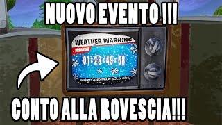 🔴 CONTO alla ROVESCIA nelle TV di FORTNITE!!! NUOVO EVENTO in ARRIVO!!!
