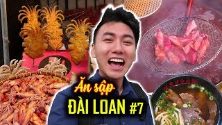 Taiwan #7: STREET FOOD IN TAMSUI BEACH CITY Part 1 |Taiwan travel guide