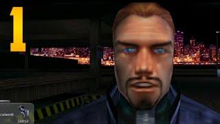 """Deus Ex Walkthrough - Part 1 """"LONE MISSION"""" (Let"""