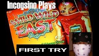 Incogsino Plays Wild Wild East Slot!