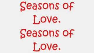 Seasons of love ~Lyrics~