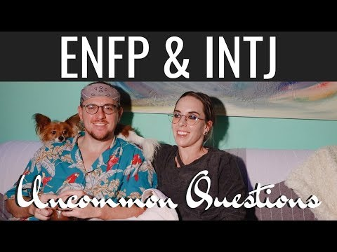 ENFP and INTJ
