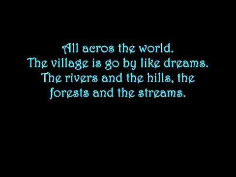 Celtic Women - walking in the air lyrics