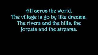Celtic Women - walking in the air lyrics