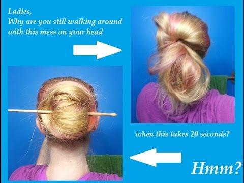 No Excuse for Messy Buns - Four Buns That Take Less Than Three Minutes