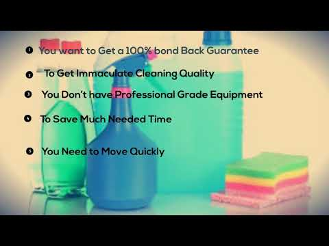Signs You Need to Hire a Bond Cleaner in Melbourne